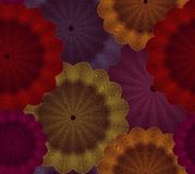 Abstract floral seamless background. Vector Royalty Free Stock Image