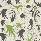 Abstract floral seamless pattern. Stock Photos