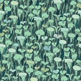 Abstract floral seamless pattern Royalty Free Stock Photography