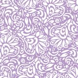 Abstract floral seamless pattern, background with white leaves. EPS10 royalty free stock photos