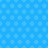 Abstract floral Seamless pattern on blue background. For prints, greeting cards, invitations, wedding, birthday, party, Valentine. 's day. Vector illustration Royalty Free Stock Image