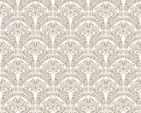 Abstract floral seamless pattern. Brocade texture. Royalty Free Stock Photography
