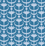 Abstract floral seamless pattern. Classic ornament. In retro style Royalty Free Stock Image