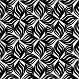 Abstract floral seamless pattern. Geometric floral ornament Royalty Free Stock Image