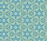 Abstract floral seamless pattern. Oriental asian texture Stock Photography