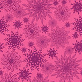 Abstract floral shapes seamless pattern background Royalty Free Stock Photo