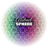 Abstract Floral Sphere Royalty Free Stock Image
