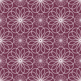 Abstract floral spirograph pattern Royalty Free Stock Photos