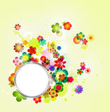 Abstract floral spring background Royalty Free Stock Photography