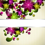 Abstract floral spring background Royalty Free Stock Photo
