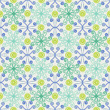 Abstract floral spring pattern Stock Photography