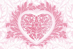 Abstract Floral Valentine Stock Photography