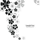 Abstract floral vector background Royalty Free Stock Image