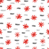 Abstract floral vector background. Royalty Free Stock Photos