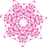 Abstract floral vector ornament Royalty Free Stock Photography