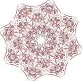 Abstract floral vector ornament Royalty Free Stock Image