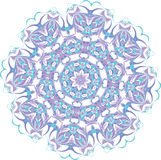 Abstract floral vector ornament Stock Images