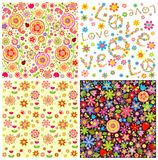Abstract floral wallpapers Stock Image