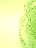 Abstract floral yellow green background texture Royalty Free Stock Photo