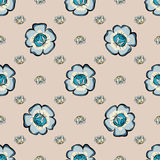 Abstract Floras pattern background. Stock Photography