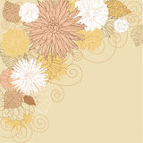 Abstract flourish background Royalty Free Stock Images