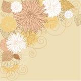 Abstract flourish background stock illustration