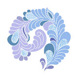 Abstract flourish design element. Freehand drawing Stock Photos