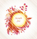 Abstract Flourish Transparent Frame Stock Images