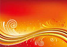 abstract flow background Royalty Free Stock Images