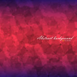 Abstract flow texture background. With linear gradient backdrop from blue to red and blue again. There is example of inscription for your text Stock Images