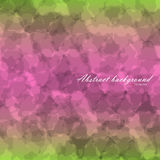 Abstract flow texture. Background with linear gradient backdrop from green to pink and green again. There is example of inscription for your text Stock Photos