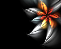 Abstract flower. Digitally generated abstract flower background Vector Illustration