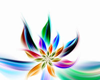 Abstract flower. Digitally generated abstract flower background Royalty Free Stock Images