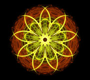 Abstract Flower stock illustration