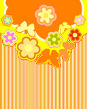 Abstract flower background. Abstract a natural background preparation for the designer Stock Photo
