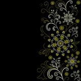 Abstract flower background Royalty Free Stock Image