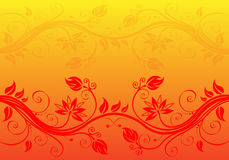 Abstract Flower Background Royalty Free Stock Photography