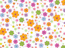 Abstract flower background. Vector illustration of abstract flower background Royalty Free Stock Image