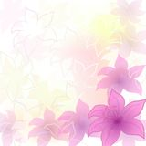 Abstract flower background Stock Photos
