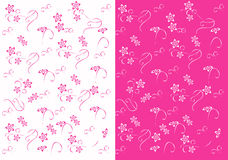 Abstract flower background. Vector illustration Stock Images