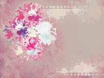 Abstract flower background. Paper for a scrapbooking. vintage style Stock Photo