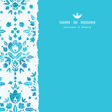 Abstract Flower Damask Square Torn Seamless Royalty Free Stock Photo