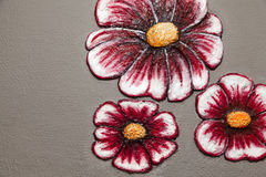 Abstract flower decoration Stock Image