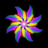 Abstract flower design vector illustration