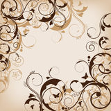 Abstract  flower design Royalty Free Stock Photo
