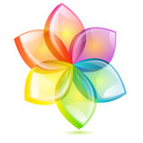 Abstract flower design Royalty Free Stock Images