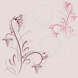 Abstract flower design Stock Photography