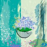 Abstract flower design Royalty Free Stock Photos