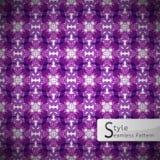 Abstract flower devil Snake Halloween purple lattice vintage royalty free illustration