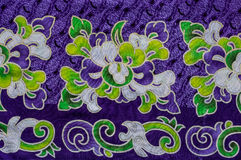 Abstract flower fabric Stock Photo